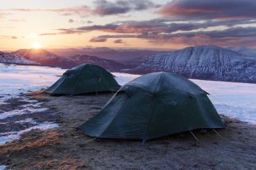 Scotland, A'Mhaighdean Sunrise